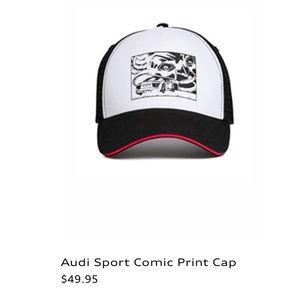Audi Sport Accessories - Audi Sport Comic Print Cap